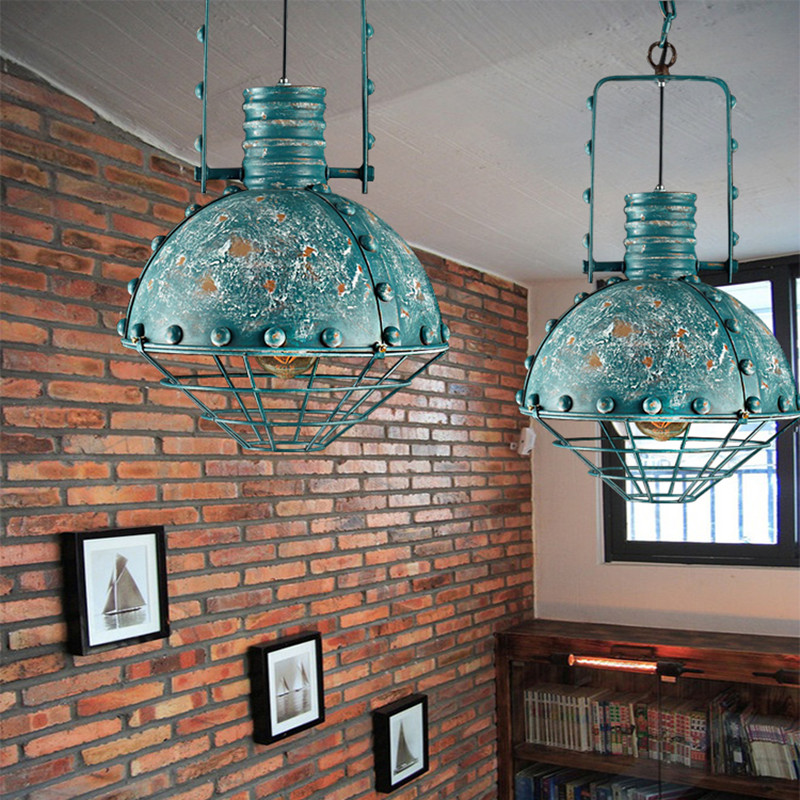 все цены на Industrial Pendant Light Vintage pendant Lamp Retro hanging lamp LED Loft living room restaurant Cafe Bar decoration lighting