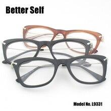 Better Self L9331 Vintage Cat Eye Frame Brand Designer Clear Lens Glasses Eyewear Women Eyeglasses Female Grade PC Spectacles
