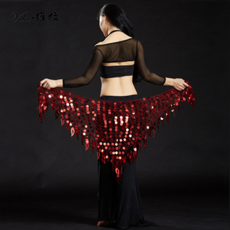 Mermaid Sequin Belly Oriental Eastern Dance Belts Costumes For Womens Bellydance Hip Scarves Scarf Dancing Indian Waist Chains