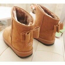 Newest Style Women Snow Boots Ug Australia Boots for Women Warm Fur Waterproof Lightweight Platform Boots 1125 35