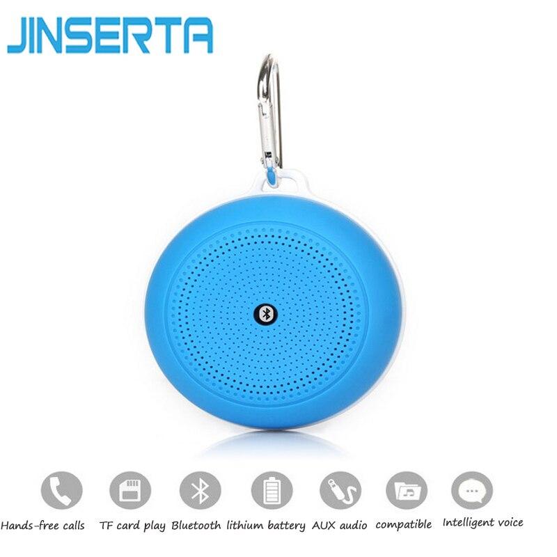 Jinserta открытый портативный динамик <font><b>bluetooth</b></font> wireless Поддержка карты памяти с пряжкой для iPhone Samsung смартфон