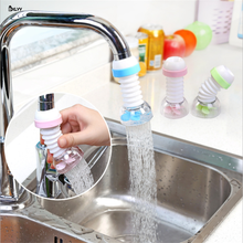 BXLYY Hot 1pc Kitchen 360 Degree Rotating Water Filter Gadgets Extendable Spray Saving Accessories Kitchenware .7z