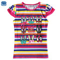 Novatx k6273 striped nova t camisas niñas ropa de los niños puros ropa de algodón desgaste de los niños Del Bebé Ropa niños camisetas tops niñas