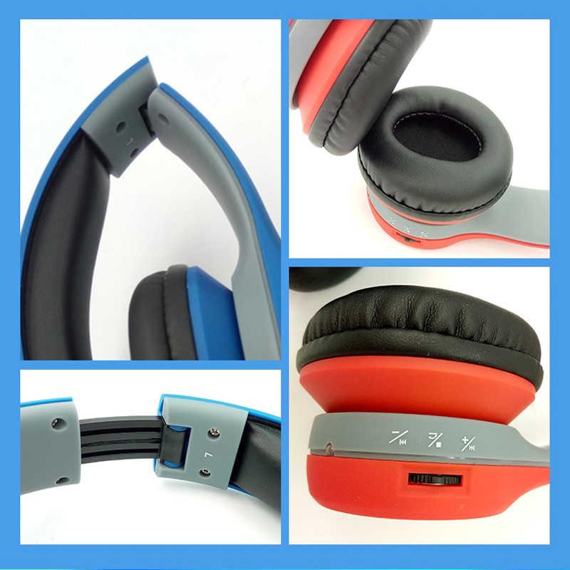 Hisonic składany zestaw słuchawkowy bezprzewodowy/a słuchawki airoha układu czas mikrofonem do gier bezprzewodowy Auriculares Audifonos bs-słońce-832
