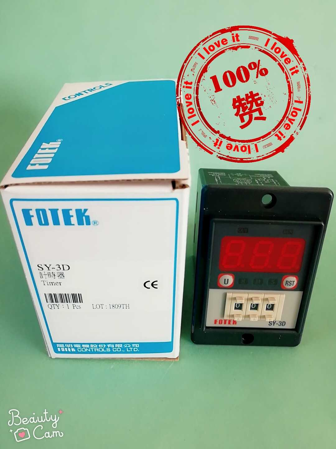 Original Imported New Timer SY-3D Time Relay Fake One Loss Ten