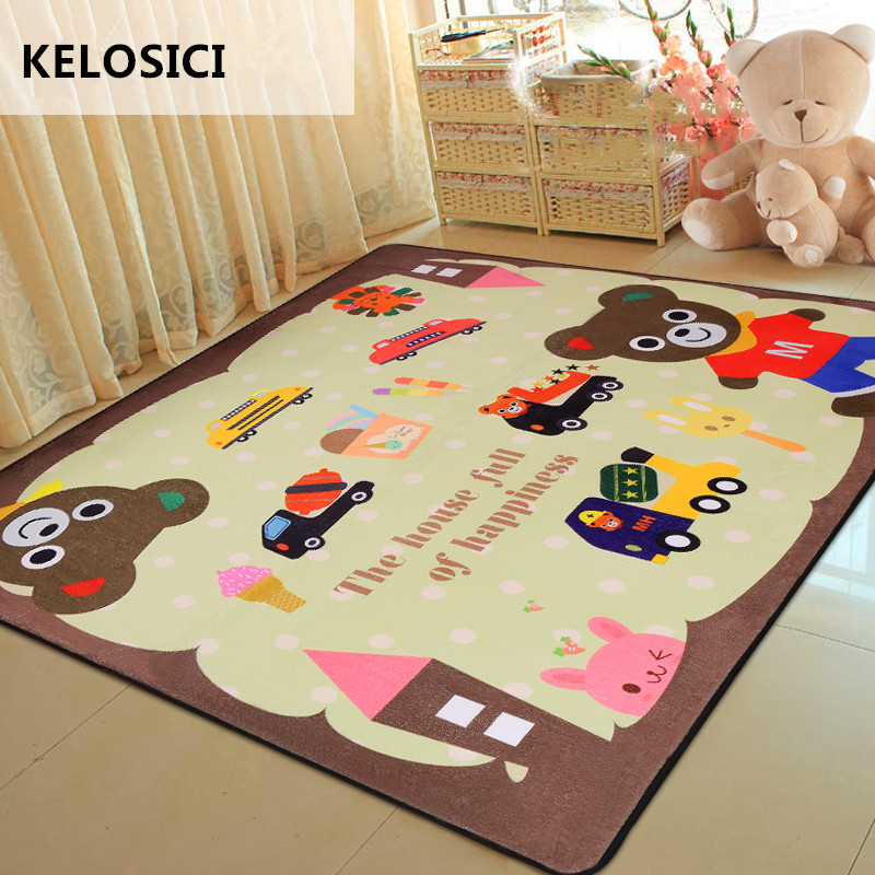 Cartoon Children Soft Carpets Kids Room Home large Area Decor Rugs for Living Room Play Game Tapete Baby Child Bedroom Crawl Mat