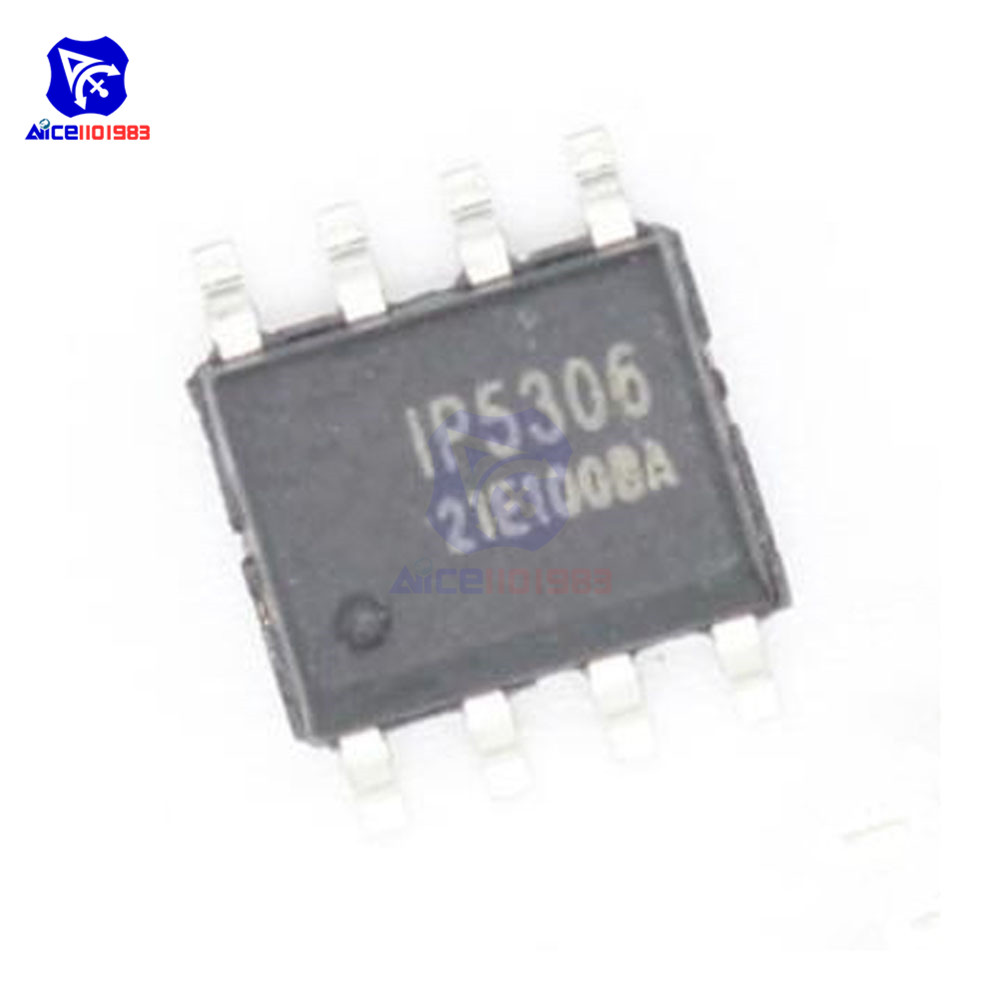 10PCS/Lot IC Chips IP5306 5306 SOP8 2.1A Charge 2.4A Discharge Original Integrated Circuits