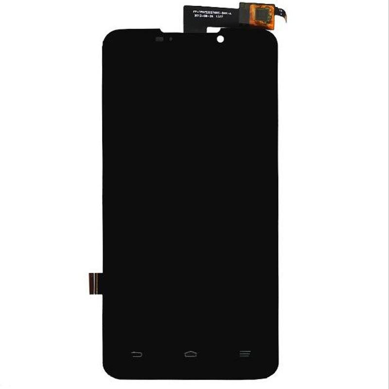 ФОТО Black  Display For ZTE Grand Memo N5 N5L N5S U5 U5S N9520 U9815 Touch Screen Sensor+LCD Display Digitizer Assembly Replacement