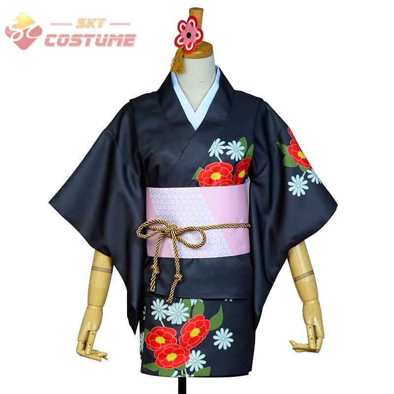 LoveLive! Love Live Nico Yazawa Yukata Kimono Halloween Christmas Cosplay Costume For Women Girls Custom Made