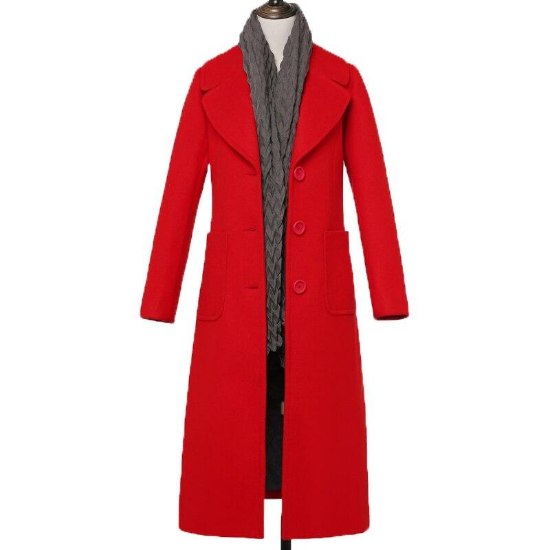 De Section 1 2 Longue Et Tb7809 Veste Épais Nouvelles Femmes Plus Des 4 Mince Taille Laine Manteau D'hiver 3 L'automne Coton wN8m0n