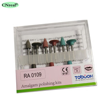 цена 1 set Dental Amalgam Polishing Kits RA0109 for Low-speed онлайн в 2017 году