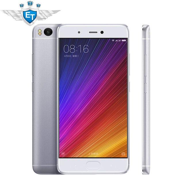 Оригинальный Xiaomi Mi5S 5.15 ''смартфон 1920x1080 Snapdragon 821 Quad Core FDD LTE 3 ГБ Оперативная память 64 ГБ Встроенная память 12.0MP IMX378 отпечатков пальцев NFC