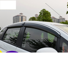 Lsrtw2017 Acrylic car rain shield for honda fit 2014 2015 2016 2017 2018 2019 3rd generation