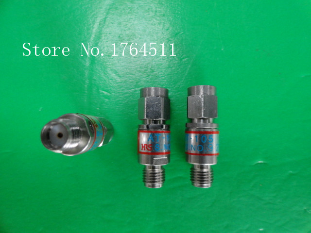 [BELLA] Hirose HRS AT-105 DC-18GHz Att:5dB 2W SMA Coaxial Fixed Attenuator  --5PCS/LOT