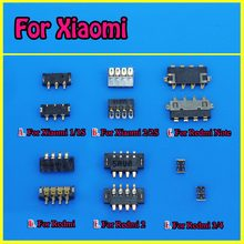 Inner FPC Connector Battery Holder Clip Contact For Xiaomi Mi1 1S Mi2 2S 4C 4i 3 Mi4 note For Redmi 1 Note 2 On Motherboard(China)
