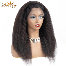 360 Lace Frontal Wig Lace Front Human Hair Wigs Kinky Straight Lace Frontal Wig Bleached Knots With Baby Hair Non Remy Lace Wig