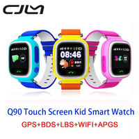 Q90 Smart Watch GPS Baby Touch Screen Waterproof WIFI Position SOS Location Finder Kid Anti Lost
