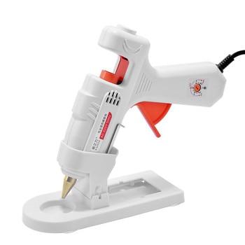 40W/80W/100W Professional High Temp Hot Melt Glue Gun Graft Repair Heat Gun Pneumatic DIY Tools Adjustable Hot Glue Gun US Plug