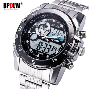 Мужские Спортивные Повседневные часы, мужские цифровые часы, мужские армейские военные Стальные наручные часы, часы Hodinky Ceasuri, мужские часы