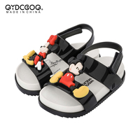 Mini Melissa Cosmic Sandal Mickey Twins 2019 Original Girl Jelly Sandals Boys Kids Sandals Children Beach Shoes Toddler Shoes