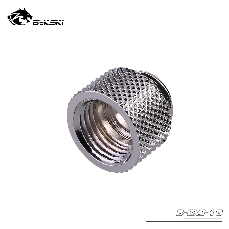 Bykski B-EXJ-15 15mm Extend Connector Fitting Joint Gray