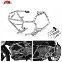 New Stainless Steel Engine Highway Guard Lower Crash Bar Fuel Tank Protector For BMW R1200GS R