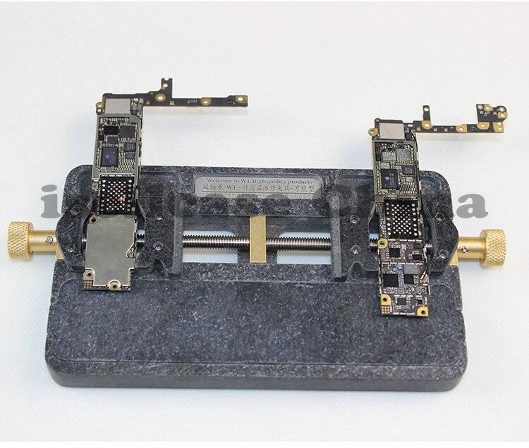 Wozniak Universalhalterung Hohe temperatur telefon IC Chip motherboard Jig Bord Halter Wartung cpu Reparatur Mold für iphone