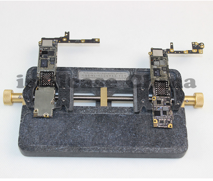 Wozniak Wl Universal Fixture High Temperature Phone IC Chip Motherboard Jig Board Holder Maintenance Cpu Repair Mold For Iphone
