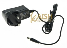 High quality UK Standard Plug DC 9V 1000mA Guitar Effect Pedal Pedals Adapter Power Supply
