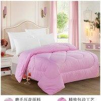 Hot sale silk cotton quilt comforter blanket for Winter/Autumn mulberry silk filler 200*230cm