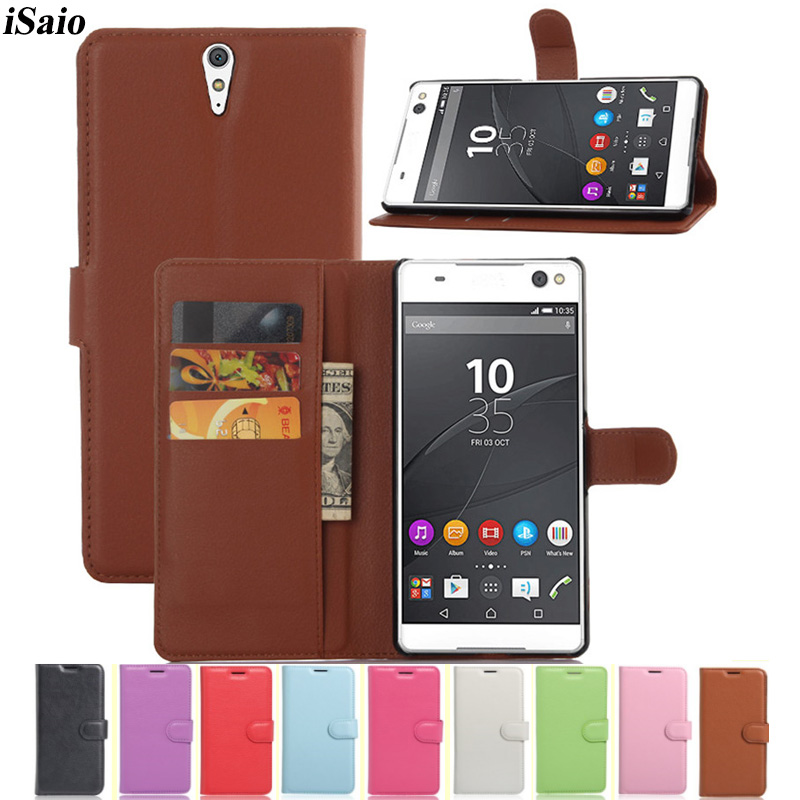 Flip Case For Sony Xperia C5 Ultra Wallet Leather Cover for Sony C5 Ultra Dual E5533 E5506 E5533 E5563 Mobile Phone Case Stand