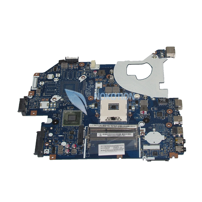 NOKOTION laptop motherboard for acer aspire 5750 5750G LA-6901P MBR9702003 MB.R9702.003 main board hm65 DDR3 mbrr706001 mb rr706 001 laptop motherboard fit for acer aspire 5749 series da0zrlmb6d0 c0 hm65