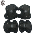 Military US Army Tactical Paintball Airsoft Hunting Protection War Game Knee And Elbow Protector Knee Pads & Elbow Pads Set