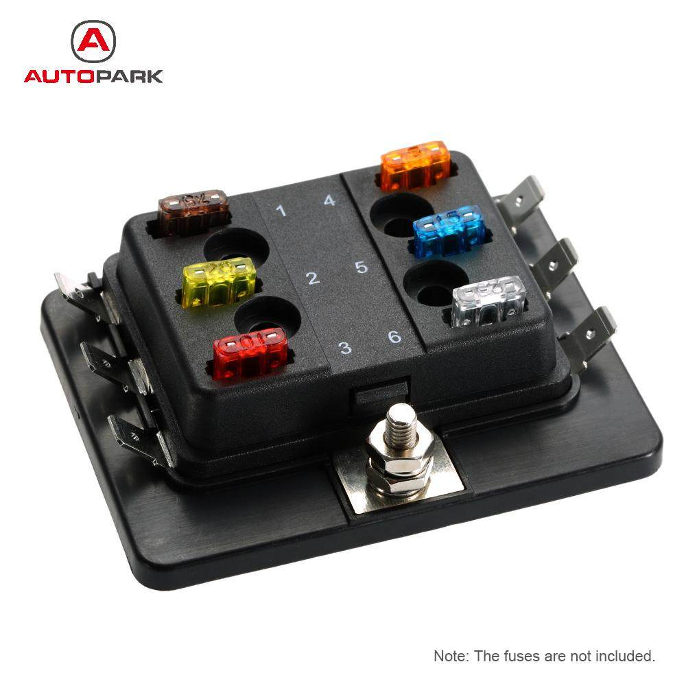 Online Shop 4 Way Fuse Box 12v 24v Max Dc 32v Circuit Car Trailer Not Working 6 Mini Blade Holder Apm Atm 5a 10a 25a For Boat Marine