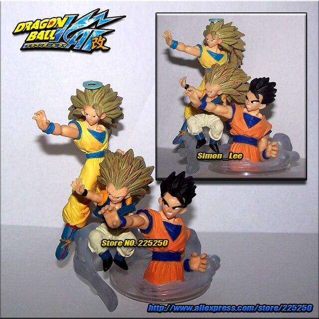 Japão Anime DRAGONBALL Dragon Ball Z Genuine Original Imaginação BANDAI Gashapon HG Brinquedos Figura Parte 10-Gotenks Goku Gohan