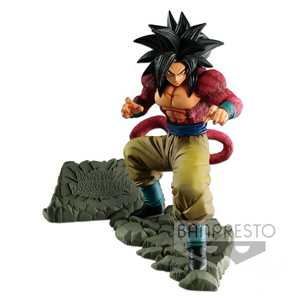 Tronzo Original Banpresto Action Figure Dragon Ball GT Goku SSJ4 Super Saiyan 4 PVC Action Figure