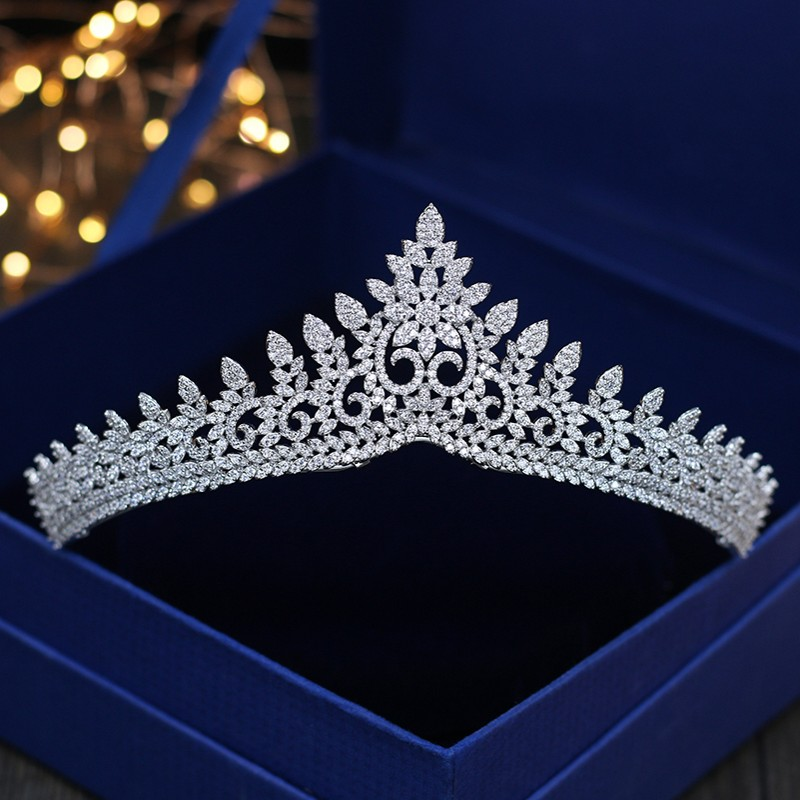 Jonnafe Shine Micro Paved Full Cubic Zircon Tiara Bridal Hair Crown Women Birthday Prom Hairband Wedding Hair JewelryJonnafe Shine Micro Paved Full Cubic Zircon Tiara Bridal Hair Crown Women Birthday Prom Hairband Wedding Hair Jewelry
