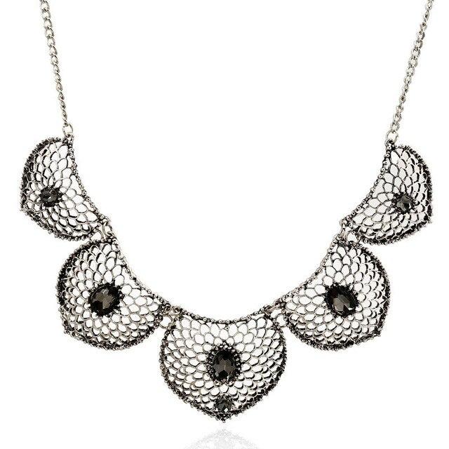 Женское винтажное многослойное ожерелье lzhlq геометрическое