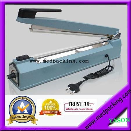 hand impulse heat plastic bag sealer /poly bag sealer/coffee bag sealer(sealing length 400mm) YS-AS400-3 fs 400 impulse sealer hand sealer sealing machine 220volts