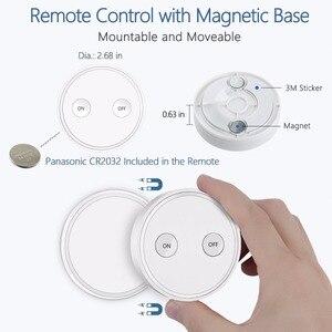 Image 3 - ワイヤレスソケット EU プラグアウトレットミニポータブルリモコン 200 メートル光ファンホームデバイス 10a 無線 Lan なしアプリ簡単 tp 使用