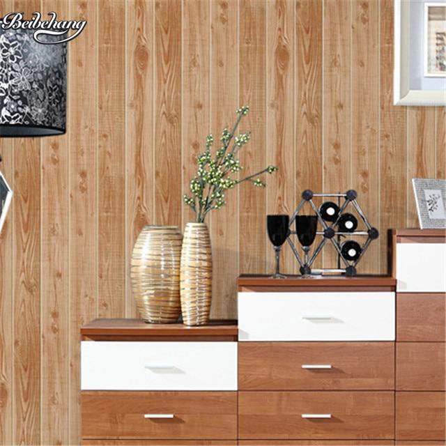 good beibehang rtro simulation bois grain papier peint d arbre motif bois vtements boutique. Black Bedroom Furniture Sets. Home Design Ideas