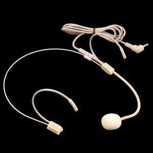 Image 5 - Profesyonel Headworn 3.5mm kulaklık kablolu mikrofon Anti girişim temizle hassas UHF yüksek sadakat