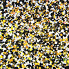 500Gram Lot Round Glitter Yellow Black White Colors Shiny Metallic Nail Art Resin Slime Decoden Supplies