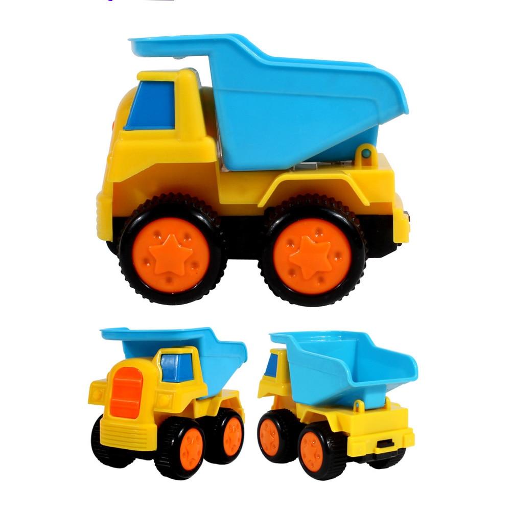 Mini Toy Cars Simulation Construction Truck Pull Go Beach Sand