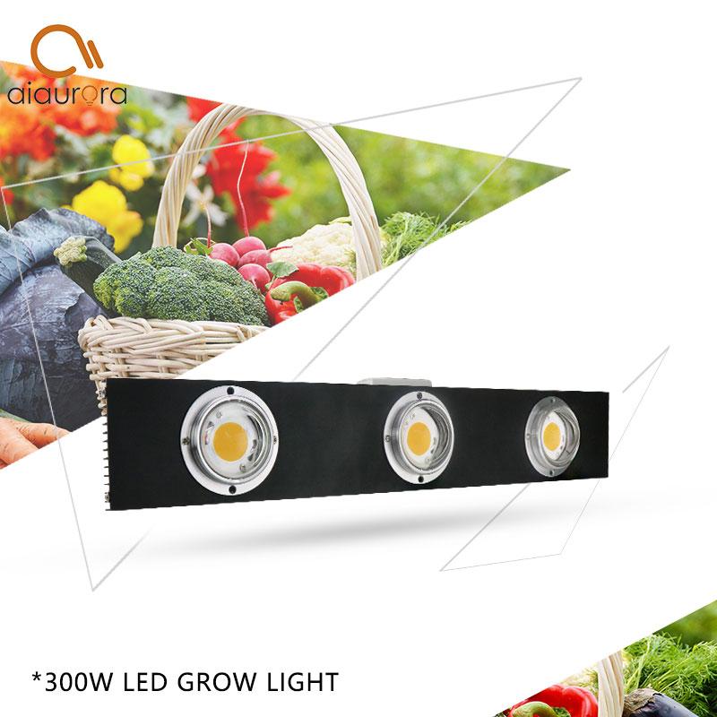 Купить с кэшбэком CREE CXB3590 300W COB LED Grow Light Full Spectrum LED Lamp 38000LM = HPS 600W Growing Lamp Indoor Plant Growth Panel Lighting