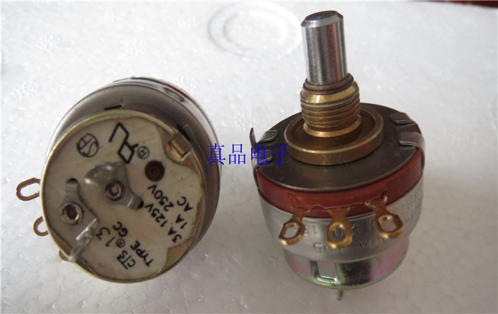[CK] Imported Canada PEC KWS4B151 1R20 150R switch potentiometer handle length 18MM 18*6.3mm switch ctr associated with switch potentiometer single handle length 15fmm a50k