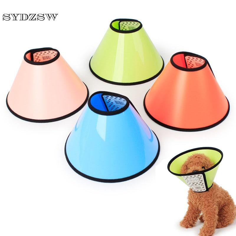 SYDZSW Candy Colour Dog Elizabethan Kraag Mode Beide zijden Mat - Producten voor huisdieren