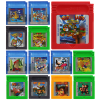 Video Game Cartridge 16 Bit Game Console Card Mari and Donkeyy kong Series