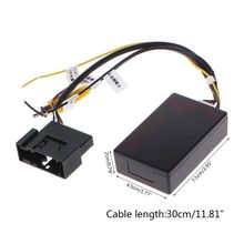 Автомобильная резервная камера заднего вида RGB к AV Коробка адаптера конвертера для Фольксваген