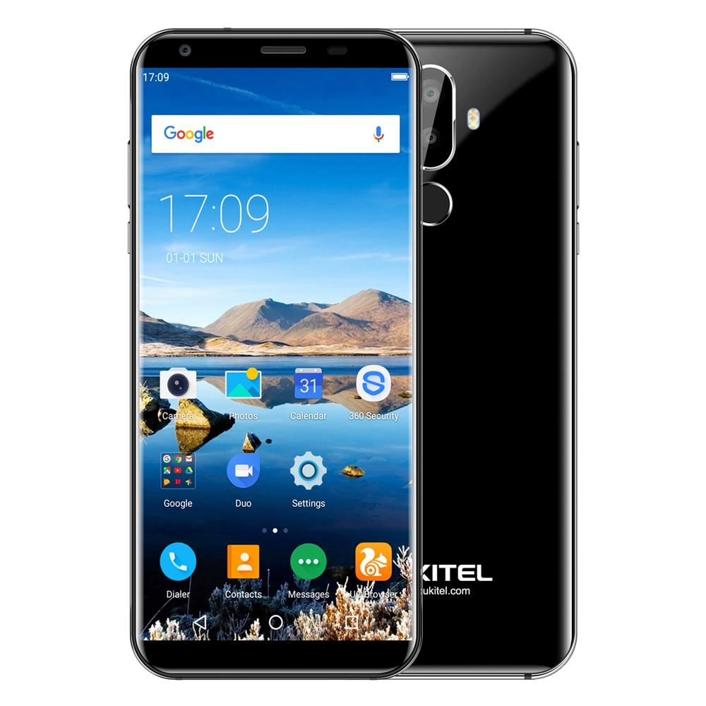 OUKITEL K5 Smartphone 4g Android 7.0 QuadCore 2 gb di RAM 16 gb di ROM 5.7 pollice 1.5 ghz 4000 mah dual Posteriore Telecamere di Riconoscimento Delle Impronte Digitali
